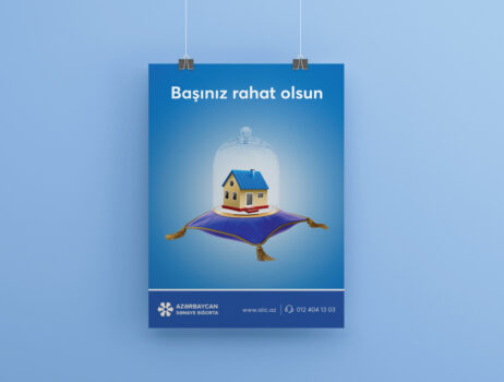 Azərbaycan Sənayə Sığorta Poster